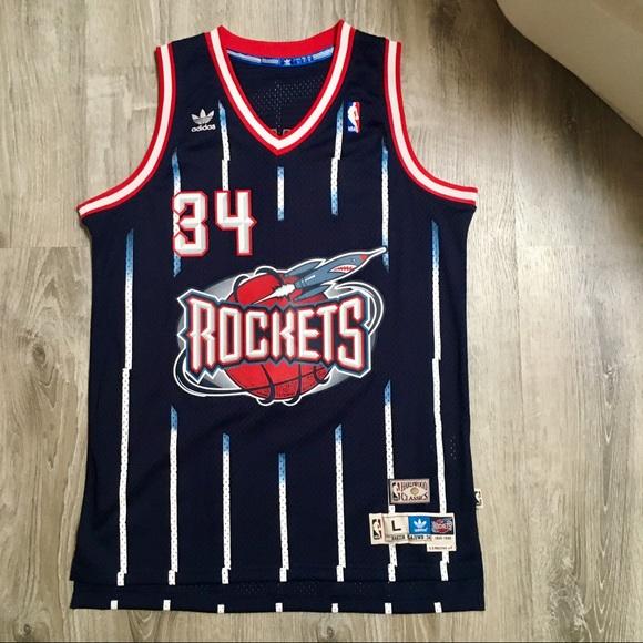 c69d5505cf67 adidas Other - Adidas Hakeem Olajuwon Houston Rockets Jersey